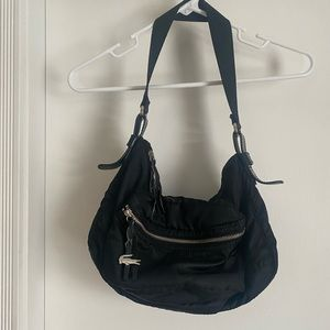Vintage nylon Lacoste Shoulder Bag